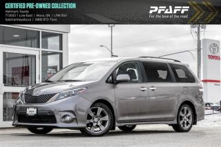 Used 2016 Toyota Sienna SE 8-pass V6 6A for sale in Orangeville, ON