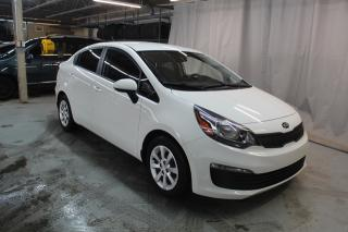 Used 2016 Kia Rio LX (GROUPE ELECTRIQUE,A/C,CRUISE) for sale in St-Constant, QC