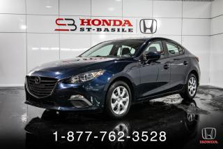 Used 2016 Mazda MAZDA3 GX + GARANTIE + AUTO + CAMERA + WOW! for sale in St-Basile-le-Grand, QC