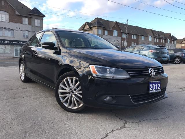 2012 Volkswagen Jetta Highline|Navi|Leather|Sunroof|Accident free