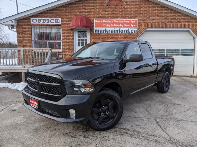 2018 RAM 1500 Express 4X4 V6 Back Up Cam BT Factory Warranty