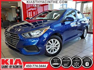 Used 2018 Hyundai Accent GL * CAMÉRA DE RECUL / SIÈGES CHAUFFANTS for sale in St-Hyacinthe, QC