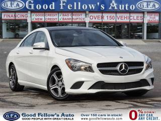Used 2016 Mercedes-Benz CLA250 4MATIC, PAN ROOF, LEATHER SEATS, BLIND SPOT, NAVI for sale in Toronto, ON