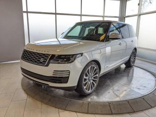 Used 2020 Land Rover Range Rover Supercharged LWB - Executive Demo Vehicle! for sale in Edmonton, AB