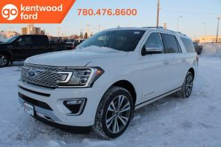 New 2020 Ford Expedition Platinum 600A, 4X4, 3.5L Ecoboost, Auto Start/Stop, Handsfree Liftgate, Keyless Entry Keypad, Heated/Cooled Seats, Heated Steering Wheel, Forward and Reverse Sensing System, Reverse Camera System, Tra for sale in Edmonton, AB