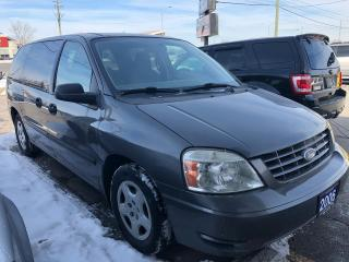 Used 2006 Ford Freestar S, ONE OWNER, ACCIDENT FREE, 3 YR WARRANTY, CERTI for sale in Woodbridge, ON