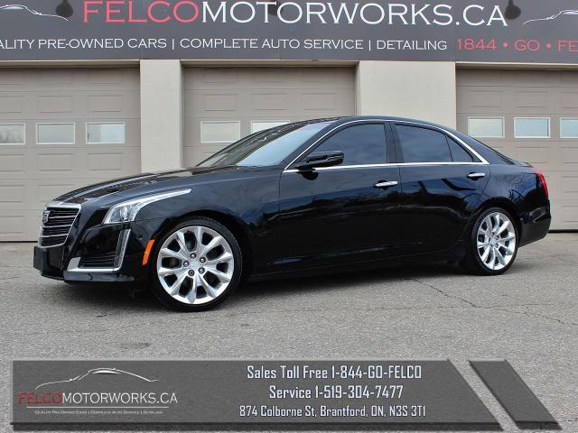 2016 Cadillac CTS Premium Collection AWD