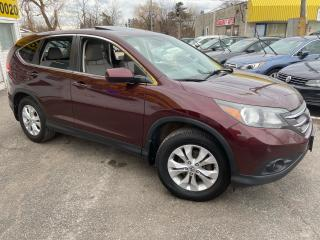 Used 2012 Honda CR-V EX-L/ LEATHER/ SUNROOF/ ALLOYS/ TINTED/ LIKE NEW! for sale in Scarborough, ON