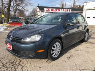 Used 2012 Volkswagen Golf Automatic/Gas Saver/Comes Certified for sale in Scarborough, ON