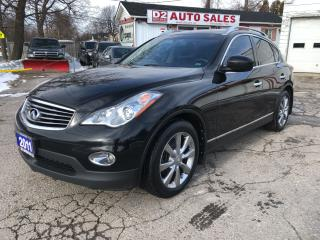 Used 2011 Infiniti EX35 Accident Free/Automatic/Comes Certifed/Loaded for sale in Scarborough, ON