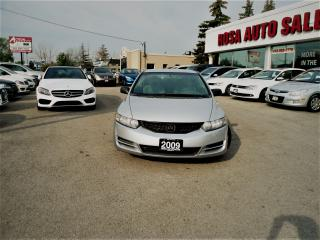 Used 2009 Honda Civic 2DR 5 SPEED MANUAL  PM PW NEW CLUTCH SAFETY for sale in Oakville, ON