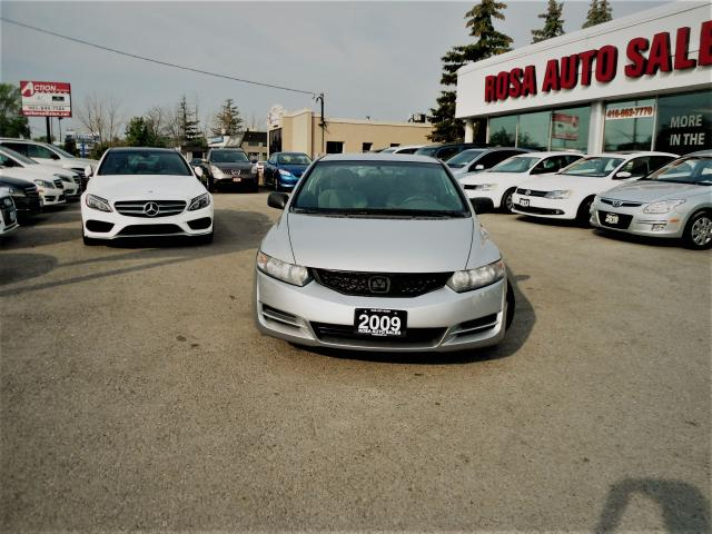 2009 Honda Civic 2DR 5 SPEED MANUAL  PM PW NEW CLUTCH SAFETY