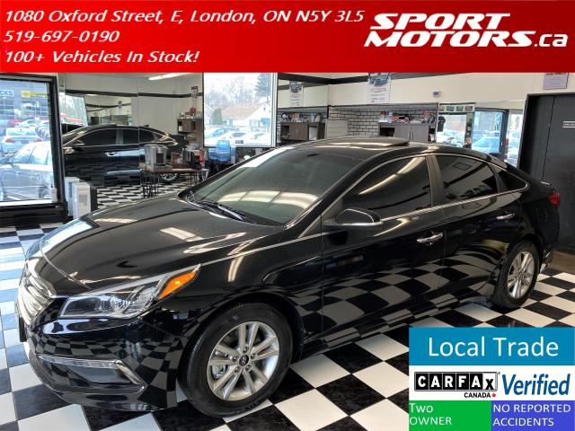 2017 Hyundai Sonata GLS+Tinted+Roof+Camera+HTD Seats+Accident Free