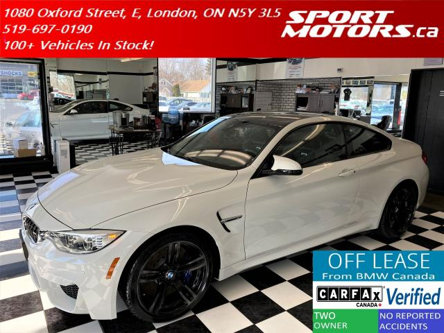 2016 BMW M4 HUD+New Michelin Tires+Camera+GPS+Accident Free