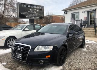 Used 2010 Audi A6 AWD quattro 3.0L S-LINE BACK-UP CAM NO ACCIDENT for sale in Mississauga, ON