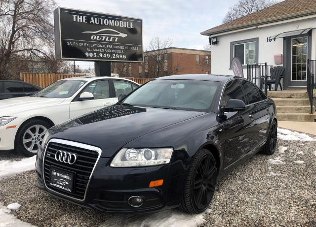 2010 Audi A6 AWD quattro 3.0L S-LINE BACK-UP CAM NO ACCIDENT