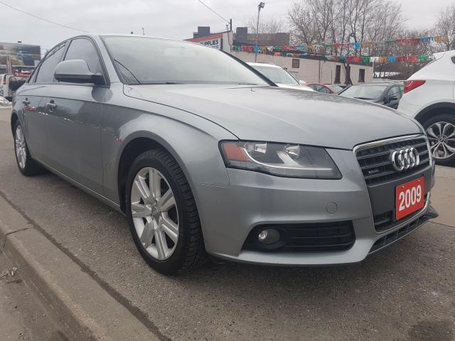 2009 Audi A4 EXTRA CLEAN-162K ONLY-AWD-LEATHER-BLUETOOTH-ALLOYS