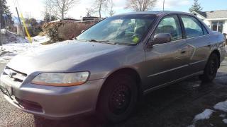 Used 2000 Honda Accord EX V6 sedan for sale in West Kelowna, BC