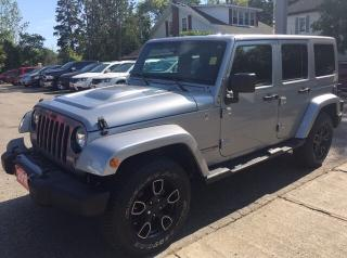 Used 2018 Jeep Wrangler JK Unlimited Sahara for sale in New Hamburg, ON