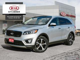 Used 2016 Kia Sorento AWD EX+ V6 (7-Seater), ONE OWNER!! for sale in Kitchener, ON