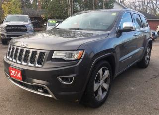 Used 2014 Jeep Grand Cherokee Overland for sale in New Hamburg, ON