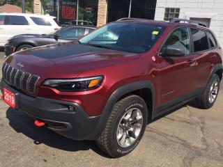 Used 2019 Jeep Cherokee Trailhawk 4x4 Company Car! for sale in New Hamburg, ON
