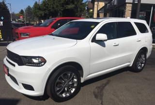Used 2019 Dodge Durango GT, Leather 7 pass, Sunroof, Dual Rear DVD, low km for sale in New Hamburg, ON
