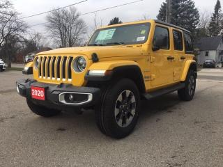 New 2020 Jeep Wrangler Unlimited Sahara for sale in New Hamburg, ON