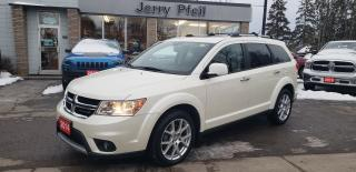 Used 2014 Dodge Journey R/T, Leather, Navigation, Sunroof, AWD! for sale in New Hamburg, ON