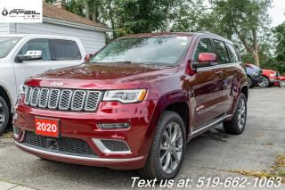 New 2020 Jeep Grand Cherokee Summit for sale in New Hamburg, ON