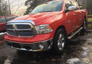 Used 2015 RAM 1500 SLT, 4X4 Crew Cab, one owner for sale in New Hamburg, ON