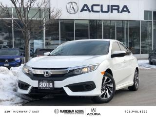 Used 2018 Honda Civic Sedan EX CVT for sale in Markham, ON