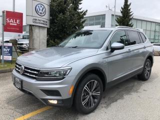 New 2020 Volkswagen Tiguan Highline 4MOTION for sale in Surrey, BC