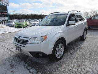 Used 2010 Subaru Forester Auto 2.5X Limited/ GREAT SERVICE HISTORY for sale in Newmarket, ON