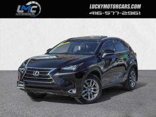 Used 2015 Lexus NX 200t AWD-BACKUP CAM-SUNROOF-REMOTE START-NO ACCIDENTS for sale in Toronto, ON