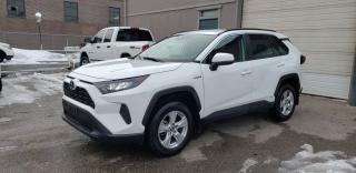 Used 2019 Toyota RAV4 AWD Hybrid LE for sale in North York, ON