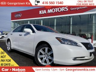 Used 2009 Lexus ES 350 LEATHER   SUNROOF   V6   ONLY 44,282KMS   for sale in Georgetown, ON