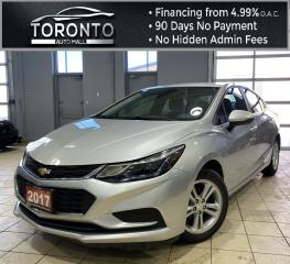 Used 2017 Chevrolet Cruze LT Auto Backup Camera Bluetooth Clean Carfax No Accidents for sale in North York, ON