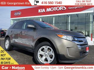 Used 2014 Ford Edge SEL | AWD | NAVI | LEATHER | PANOROOF | B/U CAM | for sale in Georgetown, ON