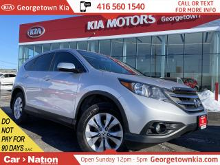 Used 2014 Honda CR-V EX-L | AWD | LEATHER | SUNROOF | BACK UP CAMERA | for sale in Georgetown, ON