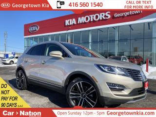 Used 2017 Lincoln MKC Reserve   AWD   NAVI   PANO ROOF   ONLY 21,360KMS for sale in Georgetown, ON