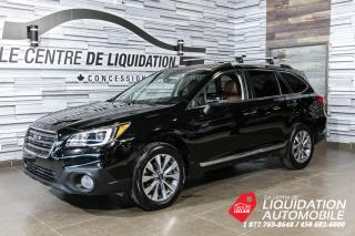 Used 2017 Subaru Outback Premier+awd+cuir brun+toit+gps+mags for sale in Laval, QC