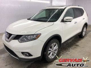 Used 2016 Nissan Rogue SV Tech AWD 7 passagers GPS Toit Panoramique for sale in Shawinigan, QC