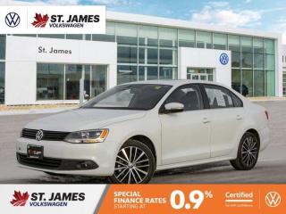Used 2014 Volkswagen Jetta Sedan Highline 2.0TDI Automatic, Heated Seats, Power Sunroof, Navigation for sale in Winnipeg, MB