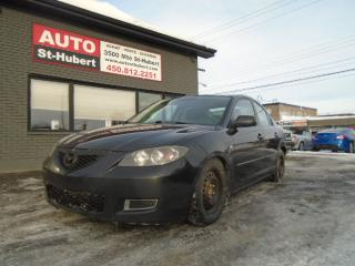 Used 2007 Mazda MAZDA3 GS for sale in St-Hubert, QC