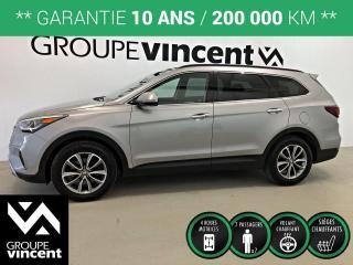 Used 2019 Hyundai Santa Fe XL Preferred AWD 7 PASSAGERS ** GARANTIE 10 ANS ** Lorsque l'espace est vital, et que le confort, la sécurité importent, le Santa Fe XL est le VUS! for sale in Shawinigan, QC