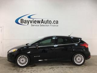 Used 2018 Ford Focus Electric - NAV! HTD SEATS! PWR GROUP! for sale in Belleville, ON