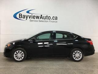 Used 2019 Nissan Sentra 1.8 SV - AUTO! ALLOYS! SUNROOF! HTD SEATS! 18,000KMS! for sale in Belleville, ON