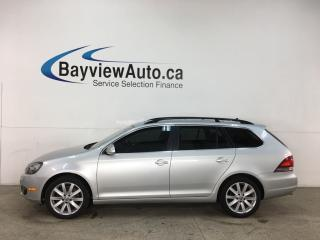 Used 2014 Volkswagen Golf 2.0 TDI Highline - HTD LEATHER! NAV! PANOROOF! for sale in Belleville, ON