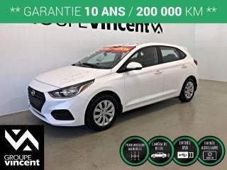 Used 2019 Hyundai Accent ESSENTIAL ** GARANTIE 10 ANS ** Liquidation 2019! Rabais de 2925$. for sale in Shawinigan, QC